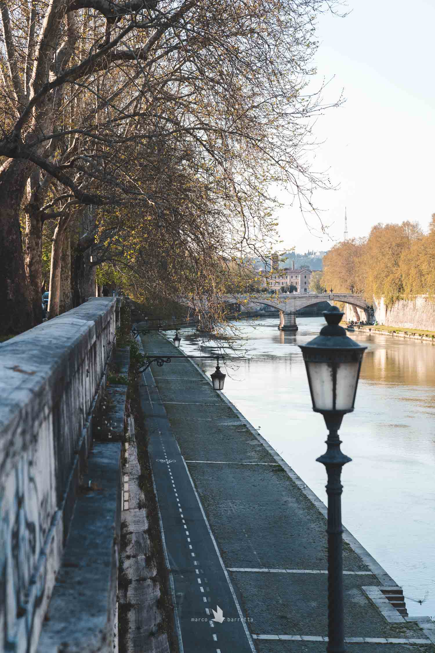 roma lungotevere lockdown